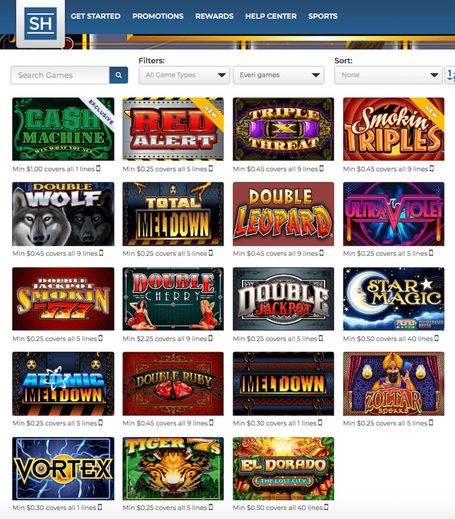 Everi Casino Games PlaySugarHouse Casino