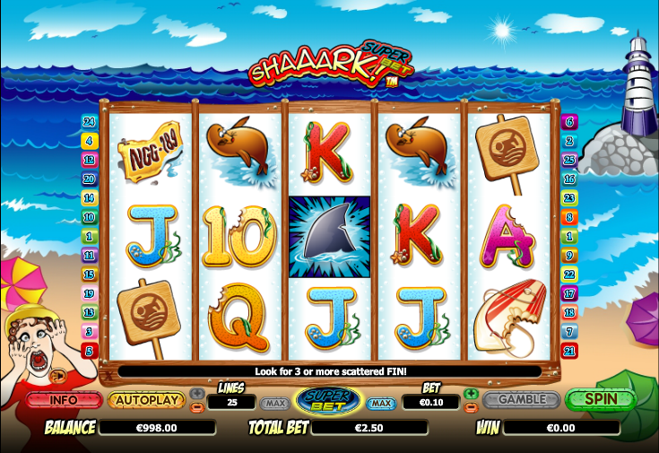 Shaaark! slot review