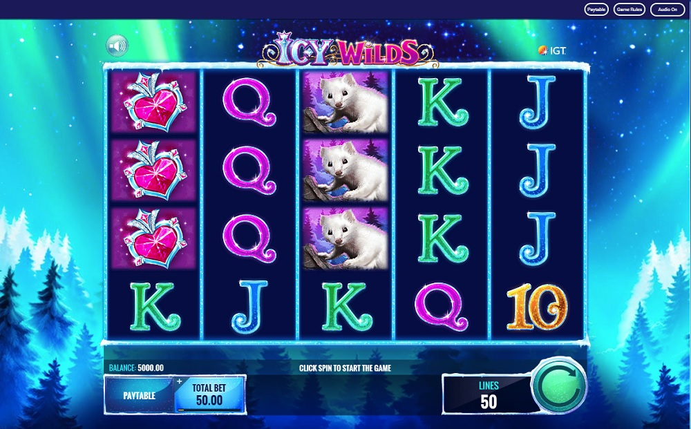icy wild slot review
